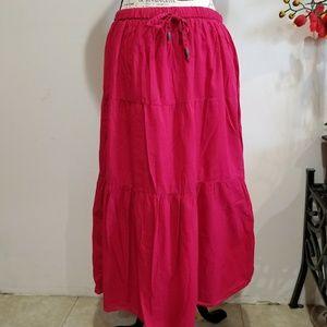 Woman's White Stag MAXI Skirt